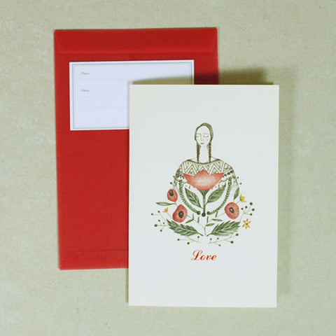 Pop Up Card - Love