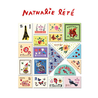 Stamp Sticker Set V.3 - Nathalie Lété - NL1927