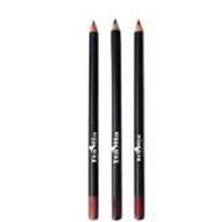 3W Wood Lip Liner Pencil - 44802 Natural Brown