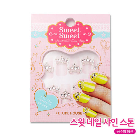 Sweet Shine Nail Stone - 04 Princess Crown