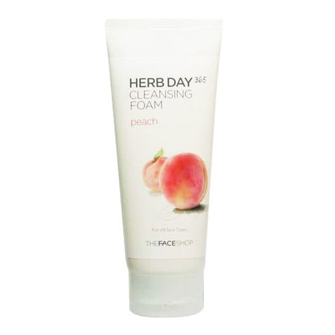 Herb Day 365 Cleansing Foarm - Peach