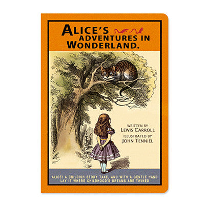 Message Card - Alice in Wonderland - Vintage Galore - Cheshire Cat - AL8216