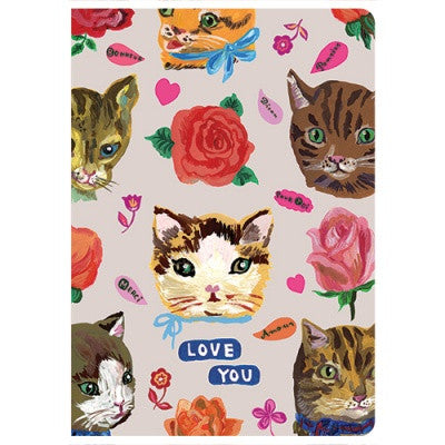 Message Card - Nathalie Lété - Love - Cat - NL5611