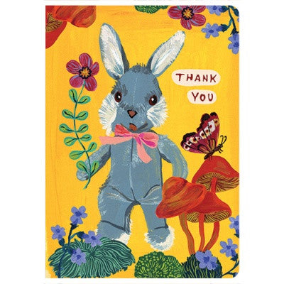 Message Card - Nathalie Lété - Thank you - Rabbit - NL5697