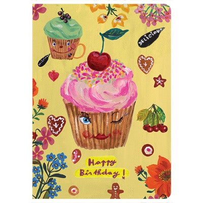 Message Card - Nathalie Lété - Birthday - Sugar Cake - NL5727