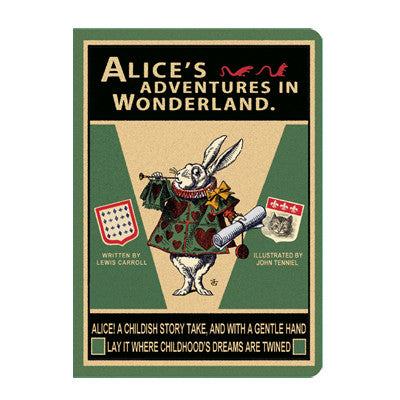 Stitch Notebook - Alice in Wonderland - Vintage Galore - Line Note - M - AL6984