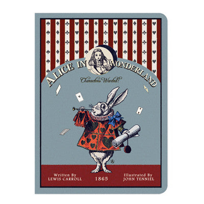 Stitch Notebook - Alice in Wonderland - Vintage Galore - Line Note - S - AL7226