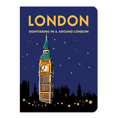 Stitch Notebook - London - Vintage Galore - Line Note - S - VY7257