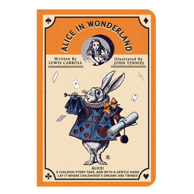 Stitch Notebook - Alice in Wonderland - Vintage Galore - Line Note - Pocket - AL7462