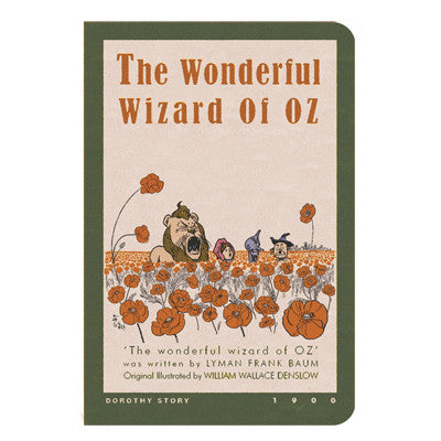 Stitch Notebook - The Wizard of Oz - Vintage Galore - Line Note - Pocket - OZ7479