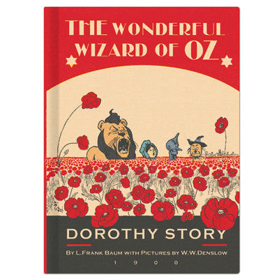 Hardcover Note - The Wizard of Oz - Vintage Galore - Line Note - OZ8629