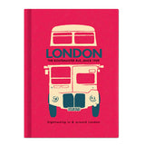 Hardcover Note - London - Vintage Galore - Line Note - VY8643