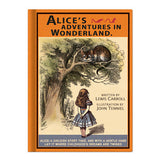 Hardcover Notebook - Alice in Wonderland - Vintage Galore - Agenda - AL8551