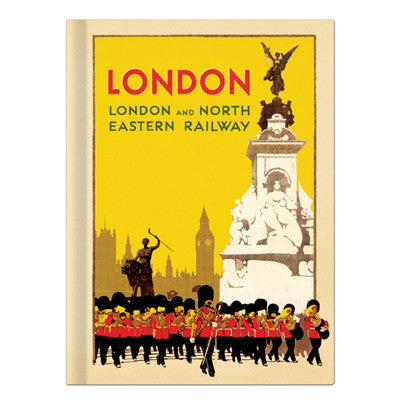 Hardcover Notebook - London - Vintage Galore - Agenda - VY8582