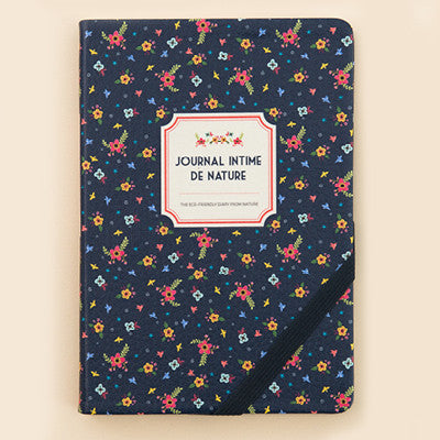 Agenda Nature - Navy Flower