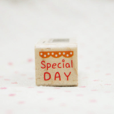 Wood Stamp - My Love - L03 - Special Day