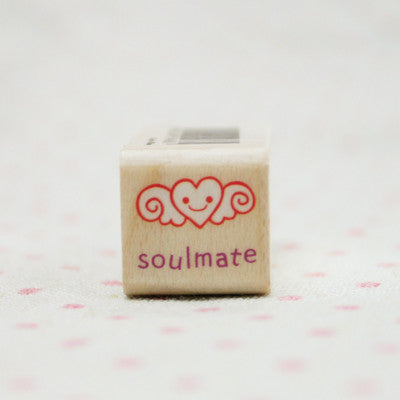 Wood Stamp - My Love - L08 - Soulmate