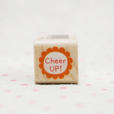 Wood Stamp - My Love - L10 - Cheer Up