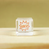 Glass Stamp - 124 - New