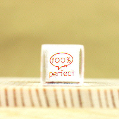 Glass Stamp - 138 - Perfect