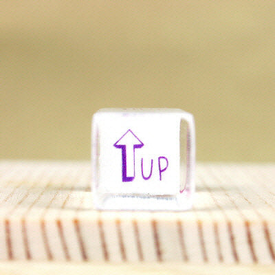 Glass Stamp - 142 - Up
