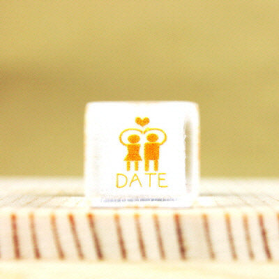 Glass Stamp - 151 - Date
