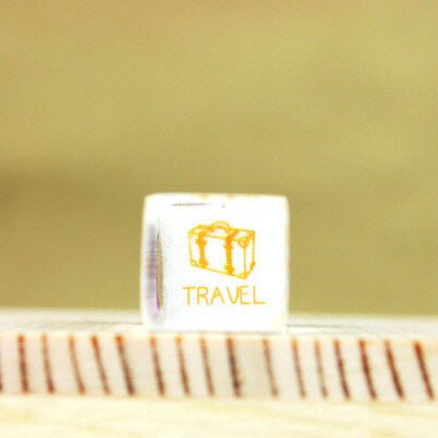 Glass Stamp - 153 - Travel