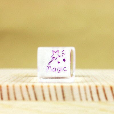 Glass Stamp - 165 - Magic