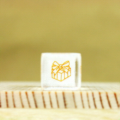 Glass Stamp - 175 - Gift