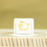 Glass Stamp - 177 - Pig