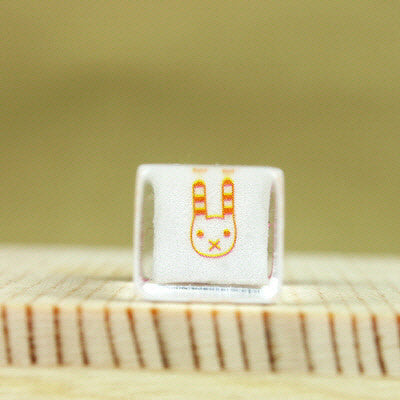 Glass Stamp - 183 - Rabbit