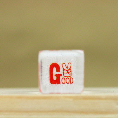 Glass Stamp - 188 - Good