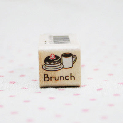 Wood Stamp - My Today - T17 - Brunch