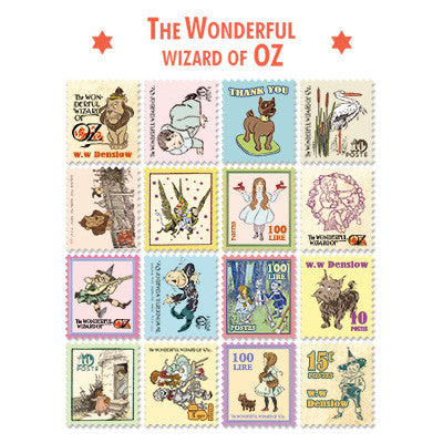 Stamp Sticker Set V.4 - The Wizard of Oz - A Type 02 - OZ4528
