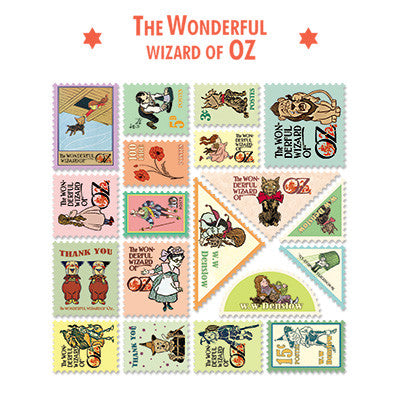 Stamp Sticker Set V.4 - The Wizard of Oz - B Type 01 - OZ4511