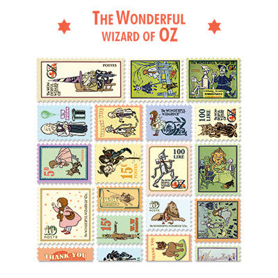 Stamp Sticker Set V.4 - The Wizard of Oz - B Type 02 - OZ4337