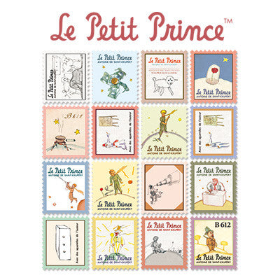 Stamp Sticker Set V.4 - The Little Prince  - A Type 01 - LP4382