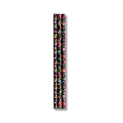 3 Pencils Set Nathalie Lété - Cat & Flower - NL3262