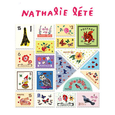 Stamp Sticker Set V.4 - Nathalie Lété - B Type 01 - NL4481