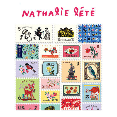 Stamp Sticker Set V.4 - Nathalie Lété - B Type 02 - NL4474