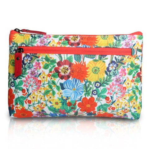 Flat Pouch Nathalie Lete - Flowers - NL3125