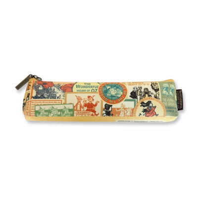 Pencil Case The Wizard of Oz - Label Pattern - Slim - OZ5044