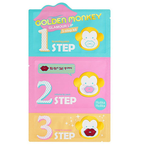 GOLDEN MONKEY GLAMOUR LIP 3 STEP