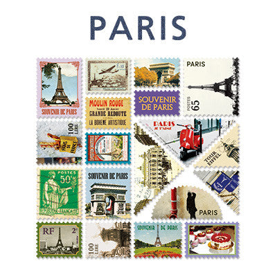 Stamp Sticker Set V.4 - Paris  - B Type 01 - VY4696