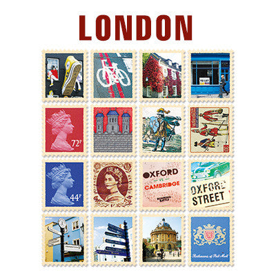 Stamp Sticker Set V.4 - London - A Type 01 - VY4405