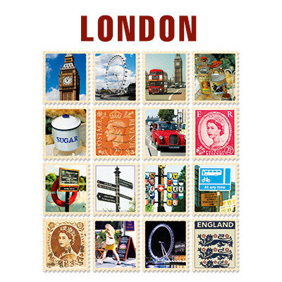Stamp Sticker Set V.4 - London - A Type 02 - VY4542