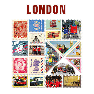 Stamp Sticker Set V.4 - London - B Type 01 - VY4535
