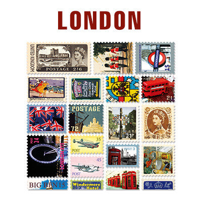 Stamp Sticker Set V.4 - London - B Type 02 - VY4399