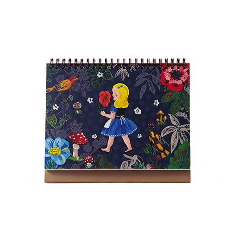 Weekly Desk Scheduler Nathalie Lété - A girl in the Forest - NL9264