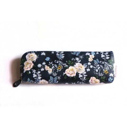 Pencil Case Nathalie Lété - Roses - Navy - NL8247
